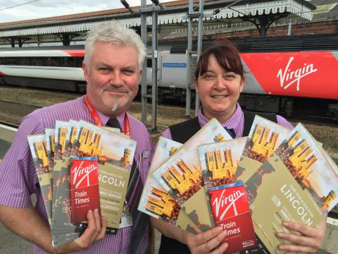DISCOVER LINCOLN ... with Virgin Trains East Coast!