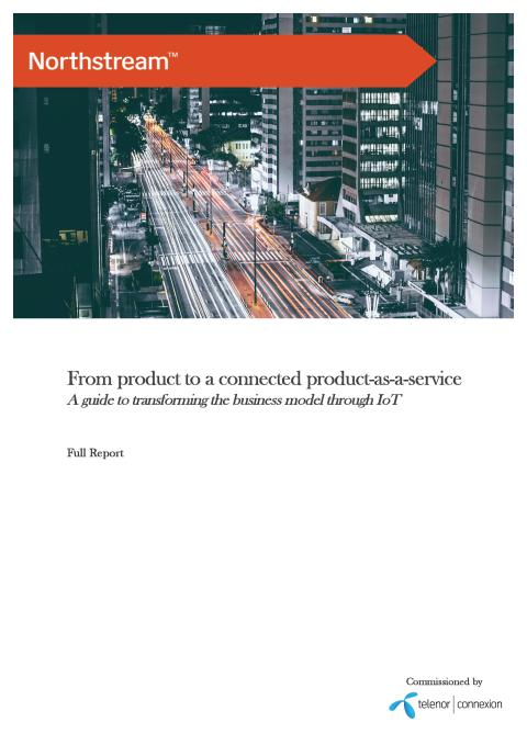 Report: From product to a connected product-as-a-service
