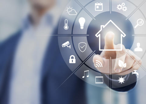 Smartere hjem med mobilen