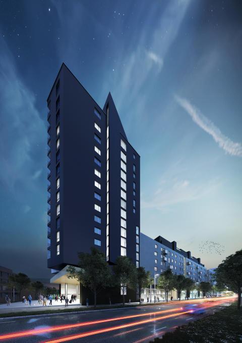 Skanska solgte 30 leiligheter på 1 minutt på Ensjø Torg