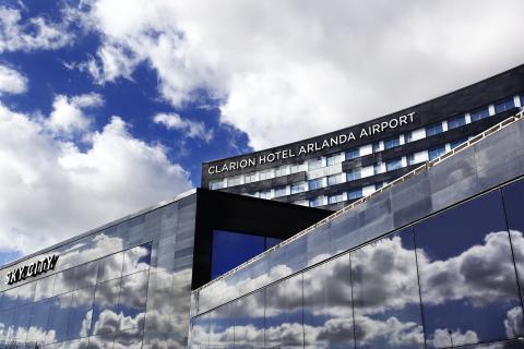 Nya Clarion Hotel Arlanda Airport - Himmelskt nära