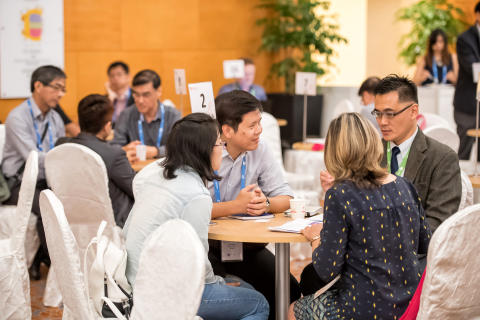 More than 400 meetings were initiated between exhibitors, delegates and speakers at TechInnovation 2016