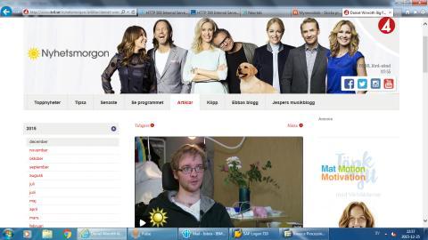 TV4 Nyhetsmorgon: Reportage från Remeokliniken