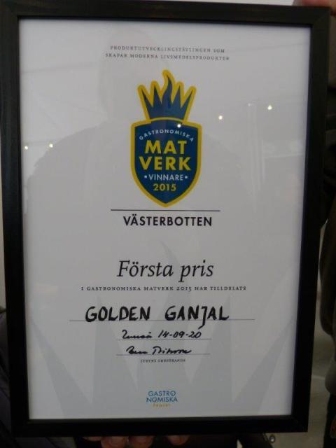 Golden diploma