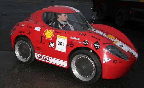 Baldos II provkörs och bränsletestas i Luleå