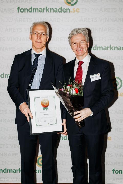Hans-Olov Bornemann och Peter Branner SEB
