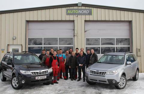 Subaru etablerar sig på Grönland