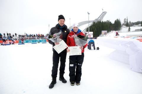 IBUs Æresmedalje i gull til Tora Berger og Johnny Rognstad