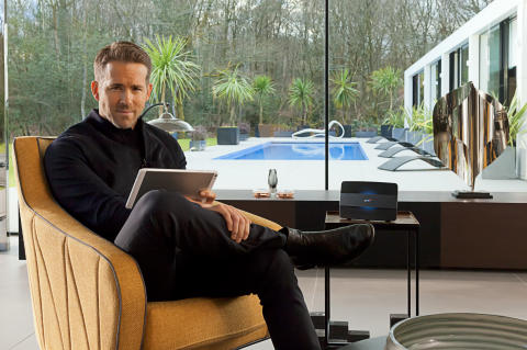 Ryan Reynolds demonstrates the power of the BT Smart Hub in new BT advert