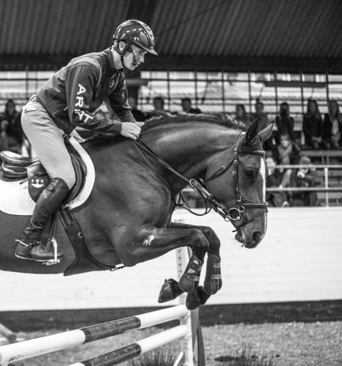 Clinic med Alexander Zetterman på Helsingborg Horse Week