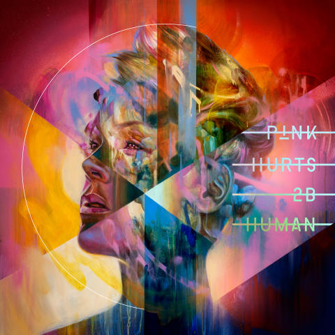 P!NK - Hurts 2B Human - albumomslag