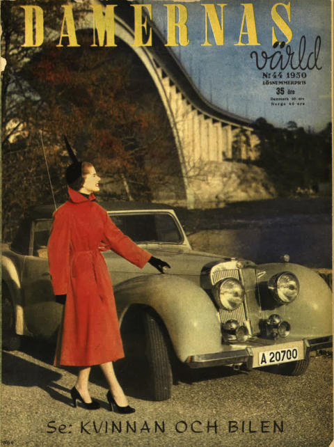 Damernas Värld, nr. 44, 1950