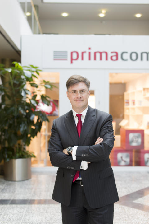 Telecommunications Executive Circle mit primacom-CEO Joachim Grendel
