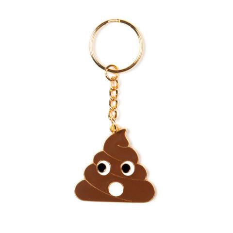 Emojinyckelring - Poo