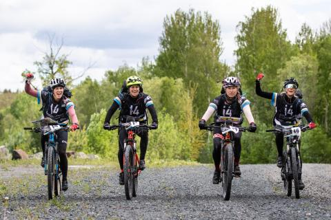 Team Holiday Club Åre under tävlingen NIAR Games Ragnarök