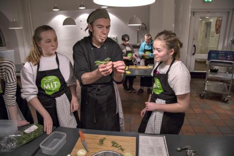 Mike Brown, daglig Køkkenchef på Kulturværftet & Toldkammeret