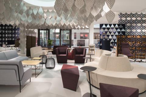 Lammhults och Abstracta inviger nytt showroom i Stockholm