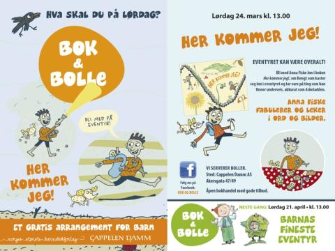 Bok & bolle - et gratis arrangement for barn