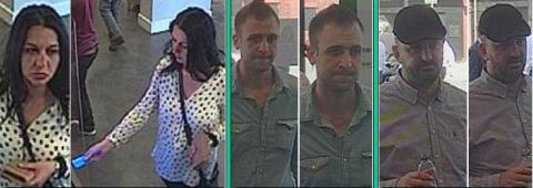 Appeal to trace three people following theft, Sutton