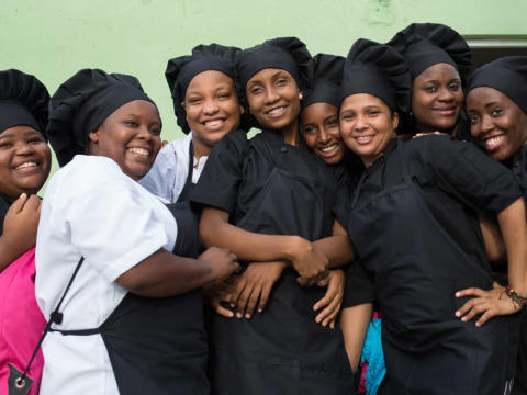 TUI Care Foundation naisten asialla