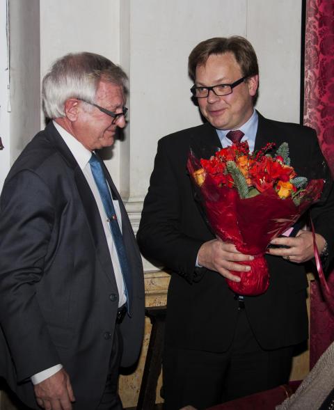 Medalj till Per Westberg