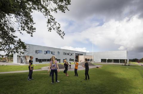 Den nyåbnede Lyreskovskole er et eftertragtet udflugtsmål for moderne læringsmetoder