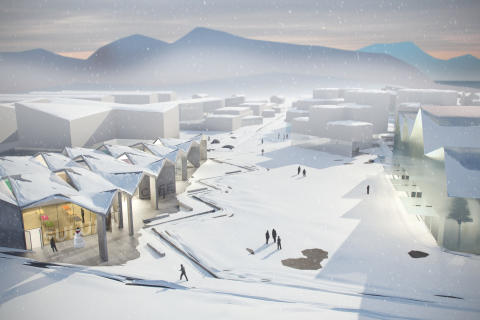 Suluk Learning Center in Nuuk, Greenland. MDH Arkitekter.