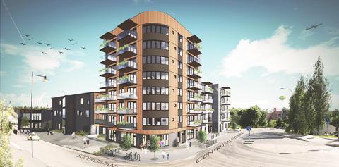 Nu tar vi första spadtaget för 51 nya lägenheter i kvarteret Kulturtorget