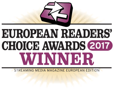Net Insights Sye vinner 2017 Streaming Media Europe Readers' Choice Award