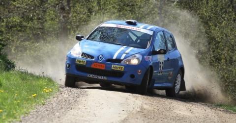 Racerapport från Team Hertz i Rally.