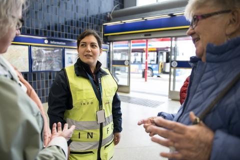 Säkerhetsmånad i tunnelbanan