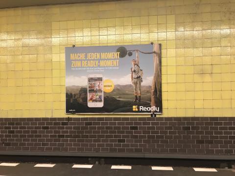"Readly kompakt: Marketing-Kampagne ""Readly Moments"" / Apple startet Magazin-Flatrate / 80 neue Titel / 6,5 Mio. gelesene Magazine"
