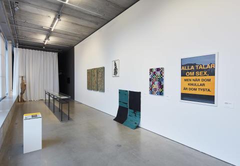 Samlade verk! 30 år med Maria Bonnier Dahlins stiftelse - installationsvy