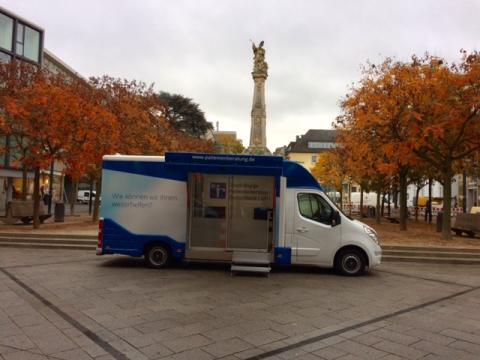 Beratungsmobil der Unabhängigen Patientenberatung kommt am 15. Januar nach Trier.