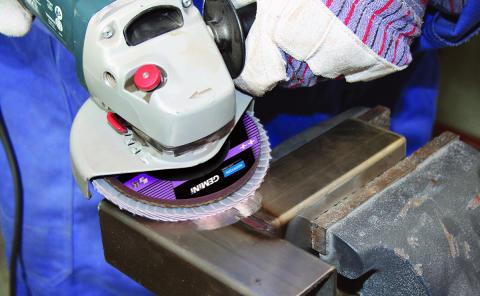 Nytt sortiment kappe- og slipeprodukter for metall