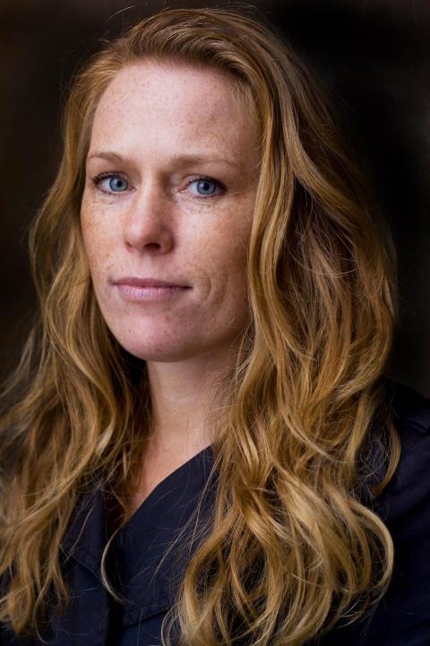 Annika Sandén tar emot Stora historiepriset på Sörmlands museum onsdagen den 18 september