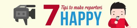 Get tips from journalists & bloggers on how to make them happy!