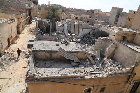 Libyen: Civila drabbas när miliser slåss om Tripoli