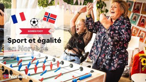 EVENT ⚽ Soirée foot  - Sport et égalité en Norvège ⚽