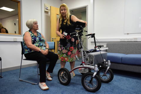 Researchers develop a walking frame that could keep older adults active, for longer