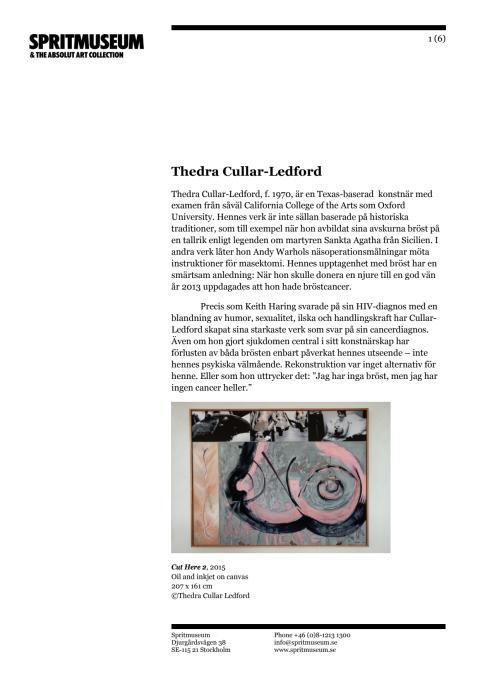 Läs mer om några medverkande konstnärer