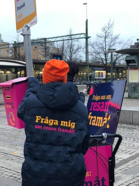 Skånetrafiken spurtar med stor informationskampanj