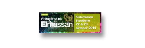 BESÖK OSS PÅ ELMÄSSAN, KISTA, 22-23 oktober