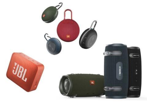 JBL lanserar en ny uppsättning av bärbara högtalare