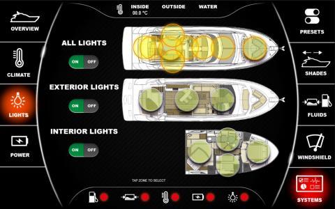High res image - Raymarine - Digital switching screen