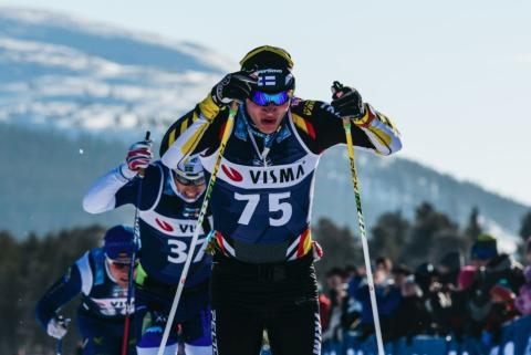 Visma pääyhteistyökumppanina Ylläs-Levin hiihtokilpailussa 14.4.2018