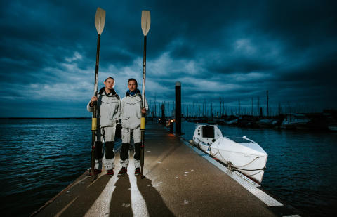 Ocean Signal - Southampton Boat Show: Ocean Signal Backs Rowing Brothers with Package of Leading Safety Equipment for Fund-Raising Atlantic Crossing
