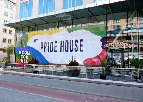 Clarion Hotel Stockholm står värd för Pride House 2019