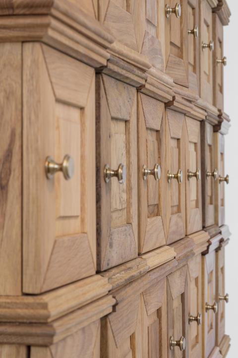 Petra Hultman_Detalj Arbete i trä, Hilding Hultman