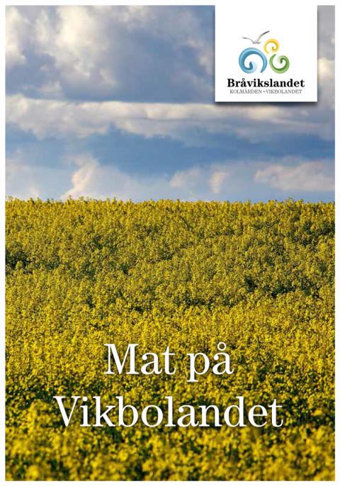 Matupplevelse på Vikbolandet - ny broschyr visar vägen